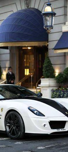 ❇Téa Tosh❇ Ferrari in front of the Ritz