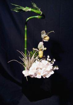 Plumeria Bouquet Earrings by dears Non-Tarnish Sterling Silver French Hook Ear Wire