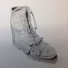 """The Strings Are Still Good "" #talentedpeopleinc #stilllife #drawing #art #artist #feet #shoes #boots#clothes# #blackandwhite #graphite #charcoal #draw #drawings #artwork #artsoninstantgram #artgallery #artistMafia #arts_gallery #artgallerys by virginia1940"
