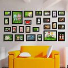 26 PCS White Wood Multi Picture Collage Set Photo Frames Home Decor Wall Mounted | eBay Living Room Decor Photos, Diy Room Decor, Art Decor, Photo Frame Display, Multi Picture, Home Decor Pictures, White Wood, Decoration, Home Art