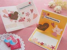 飛び出すカード手作りキット01 </br>* select *≪バレンタイン限定≫