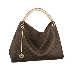 Louis Vuitton Monogram Canvas Artsy MM The Artsy MM embodies understated  bohemian style. Louis Vuitton s iconic and divinely supple Monogram canvas  is ... 6c22b5a9f1b