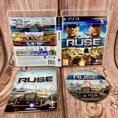 R.U.S.E. Don't Believe What You See PS3 Playstation 3 game RUSE aircraft battle