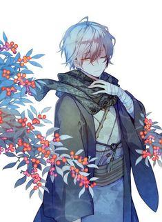 "Artist ""Muryō no tori:) Hot Anime Boy, Cute Anime Guys, Anime Love, Anime Angel, Gato Anime, Handsome Anime Guys, Natsume Yuujinchou, Manga Boy, Boy Art"