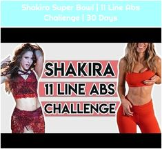 1. Shakira Super Bowl | 11 Line Abs Challenge | 30 Days Shakira Super Bowl | 11 Line Abs Challenge | 30 Days Shakira Super Bowl | 11 Line Abs Challenge | 30 Days – YouTube 30 Day Challenge, Shakira, Bowls, Abs, Challenges, Youtube, Women, Serving Bowls