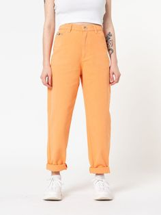 Soft yellow trousers  Vintage flaired trousers  Beige floral print pants  Mid waisted pantalon  Vintage mid waist pantalon  Size XS34
