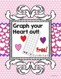 Graph your Heart out!  An alternative to the conversation hearts graphs.  Perfect if you want to limit the sweets in the classroom or use this before Valentine's Day.  Fun and FREE!
