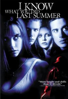 I Know What You Did Last Summer (1997) Four teens are in great danger one year after their car hits a stranger whose body they dump in the sea.