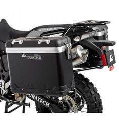 The Zega Pro pannier system is the best luggage option for your BMW F800GS, F700GS, or F650GS Twin motorcycle.