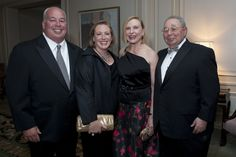 93rd Woman's Board September Gala:  (from l) Matthew and Elizabeth Connelly and Virginia and Norman Bobbins