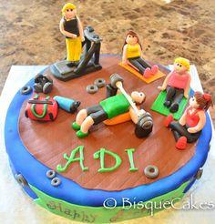 Gym based cake