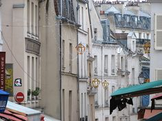 Rue Mouffetard - one of the most (cw12)  perfect old-school streets in Paris.