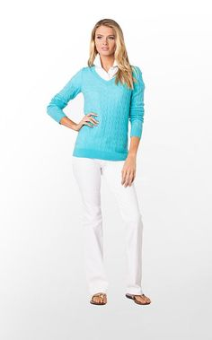 Katherine Sweater by Lilly Pulitzer.