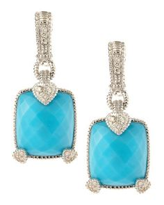 I think this are one of the most beautiful earrings i eve seen. so classic and rich...