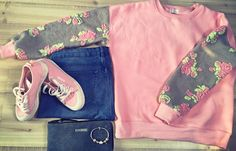 Be beautiful: Pink sweatshirt