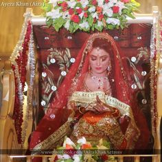 ayeza khan wedding pics - so cute & shy Aiza Khan Wedding, Desi Wedding, Wedding Pics, Bridal Pics, Wedding Album, Wedding Attire, Wedding Things, Wedding Bells, Summer Wedding