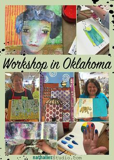 Photos of my workshops in Oklahoma