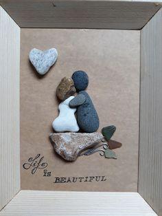 Obraz z kamieni wykonany przez @handmade_by_gromala #pabble #pabbleart #stone #stoneart #handmade Frame, Blog, Handmade, Beautiful, Instagram, Home Decor, Picture Frame, Hand Made, Decoration Home