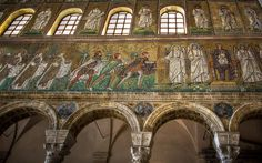"""""""The Magnificent Ravenna Mosaics of S. Apollinare Nuovo"""" by @1step2theleft"""