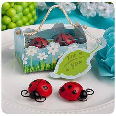 Ladybug Magnet Favors