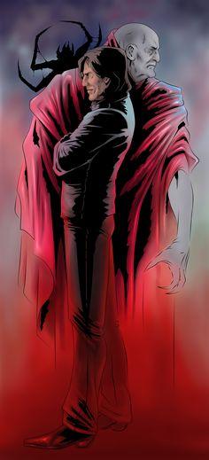 Flagg, Crimson King and Mordred by Clayman84.deviantart.com on @DeviantArt