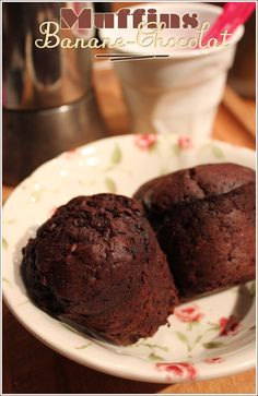 Muffins banane-chocolat pour recycler ses bananes trop mûres