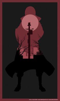 Itachi Uchiha (A Crimson Night) Poster by Creative2Bit