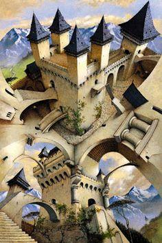 Irvine Peacock - Castle of Illusions