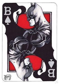 Batman of Spades - Limited Edition - Signed Giclée - Jennifer Giner -. - Batman of Spades – Limited Edition – Giclée signed – Jennifer Giner – W. Batman of - Batman Drawing, Batman Artwork, Batman Comic Art, Batman Wallpaper, Im Batman, Gotham Batman, Batman Robin, Arte Dc Comics, Marvel Comics