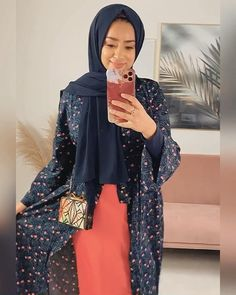 Muslim Fashion, Modest Fashion, Hijab Fashion, Blue Outfits, Modest Outfits, Preppy Style, My Style, English Cottage Style, Model House