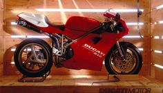Ducati 916 SPS. This was initially a life size artwork. One of the most iconic images of one of the most iconic versions of one of the most iconic models from one of the most iconic manufacturers- phew!