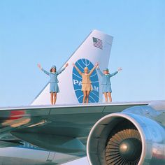 Pan American World Airways was a world leader in commercial aviation. From unveiling the Boeing 747 in to its foray into Hollywood, we take a look at some of the airlines' most memorable moments. Belle Epoque, Jean Mermoz, Jets, Flight Attendant Life, Pan Am, Vintage Travel Posters, Vintage Airline, Air Travel, Airline Travel