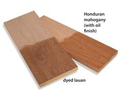 Click To Enlarge - Turn lauan into mahogany