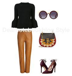 """Dearnotebookblog Style (66) #lookoftheday #look #outfit #outfitoftheday"" by dearnotebookblog ❤ liked on Polyvore featuring Joseph, Carolina Herrera, Chloé and Massimo Matteo"