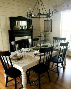 Awesome 80 French Country Dining Room Table and Decor Ideas https://crowdecor.com/80-french-country-dining-room-table-and-decor-ideas/