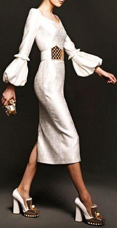 Alexander McQueen love this dress.