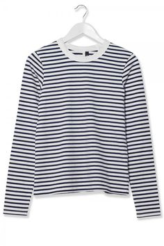 Topshop Boutique Striped Long Sleeve Tee, £35