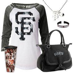 San Francisco Giants Fan Gear - http://cutesportsfan.com/san-francisco-giants-at-fanatics/