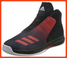 best service 402a4 910cd adidas Herren Court Fury 2016 Basketballschuhe, Black (Negbas  Rojray   Ftwbla),