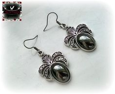 Hey, I found this really awesome Etsy listing at https://www.etsy.com/listing/239710873/black-jet-hematite-gothic-earrings
