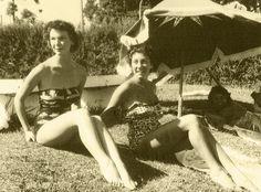 Graciosa Country Club - Sócias na piscina