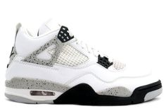 308497-103 Nike Air Jordan 4 White Cement White/Black-Cement Grey   $116   http://www.myshoesonline2014.com/308497-103-nike-air-jordan-4-white-cement-2012-414.html