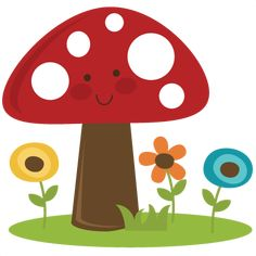 cute cartoon mushroom pictures toadstool clip art images toadstool rh pinterest com mushroom clipart mushroom clipart