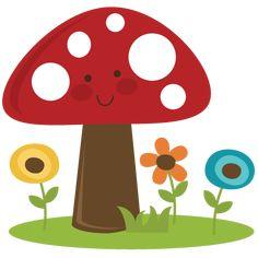 Cute Mushroom SVG cut file for scrapbooking mushroom svg file free mushroom svg file Clip Art, Výrobky Z Papíru, Vyrábění Pro Děti, Květinové Doodly, Umělecký Deník, Jednoduché Kresby, Domky Na Stromě, Appliques, Podzim