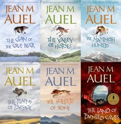 I began reading this series in middle school and I have always been impressed with the amount of research and detail that Jean Auel has put into the series.
