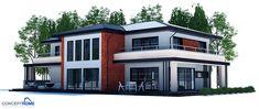 house design modern-house-plan-ch204 3