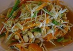 Som Tam (Groene Papaja Salade)