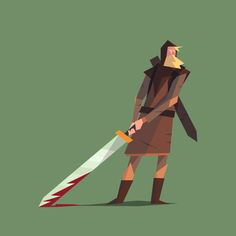 Lady of the sword on Behance PROJECT BY  Multiple Owners