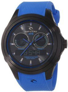 Rip Curl Men's A1076-MBL Ana-Digi Tide 200 Preset Beach Locations Watch Rip Curl. $212.51. 316l stainless steel case. 200 preset beach listings. Water-resistant to 200 M (660 feet). Sunrise and sunset times. Preprogrammed moon phases. Save 35% Off!
