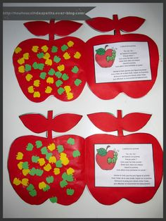 .. L'asticot et la pomme .. Apple Theme, Petite Section, Twinkle Twinkle, Activities, Images, Blog, Crafts, Montessori, Preschool